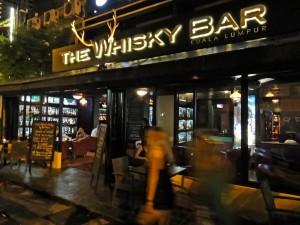 The whiskey bar