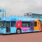 hop-on hop-off bus